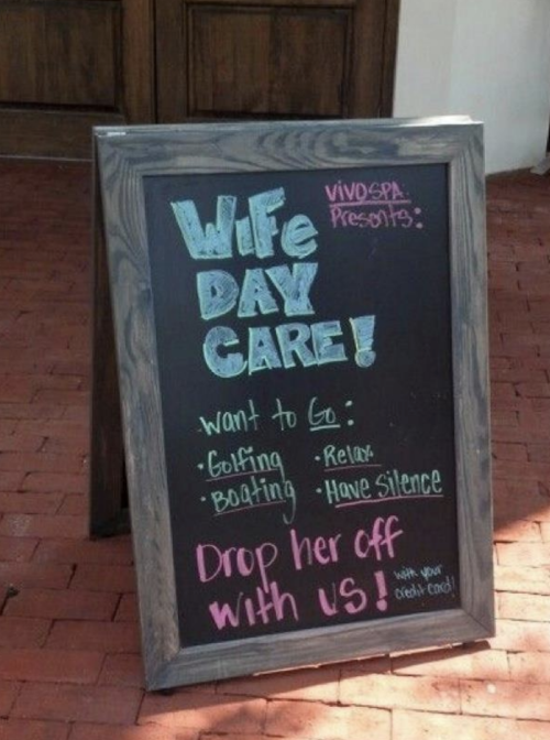 Wife Day Care
